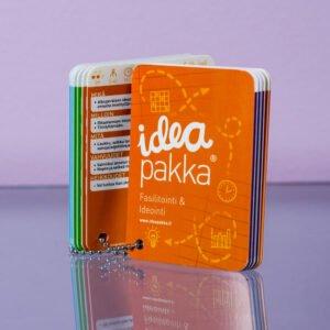 Ideapakka fasilitointi ja ideointi kortit