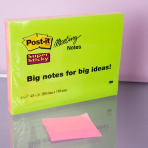Isot liimalaput - Meeting notes post-it